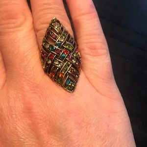 Jewelry - 💥 multicolored sparkling ring